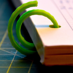 Download free 3D printing files paper clip, JOHLINK