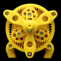 Download free 3D printing files Water Motor, JOHLINK