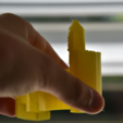 Free 3D printer model Logarithmic Spiral Castle, JOHLINK