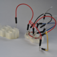Free 7 segment display 3D model, JOHLINK
