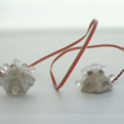 Free 3d printer designs LED hemisphere, JOHLINK