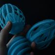 Free 3d printer designs Easter Egg, JOHLINK
