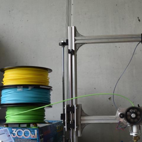 Capture d'écran 2017-05-04 à 11.16.15.png Download free STL file spool holder for several spool filament • 3D printer model, JOHLINK