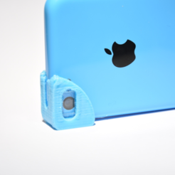 Free macro lens for iphone 5c 3D model, JOHLINK