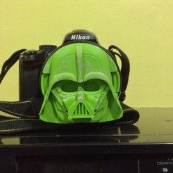 Download 3D printer designs Darth Vader Lens Cap, Protofabrica