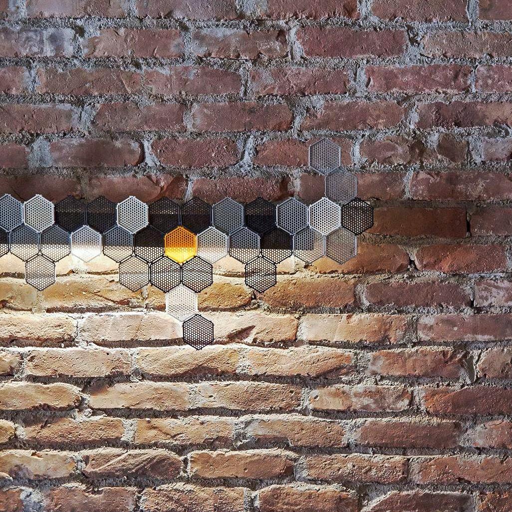 02.jpg Télécharger fichier STL gratuit Module autobloquant   Nid d'abeille • Design pour imprimante 3D, VOOOD
