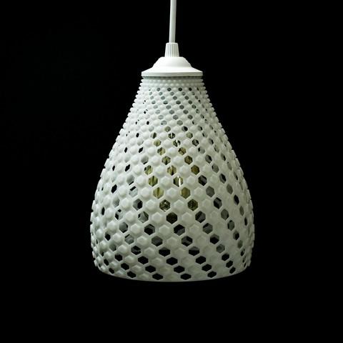 02.jpg Download STL file FIBONNACCI | PENDANT SHADE • 3D print object, VOOOD