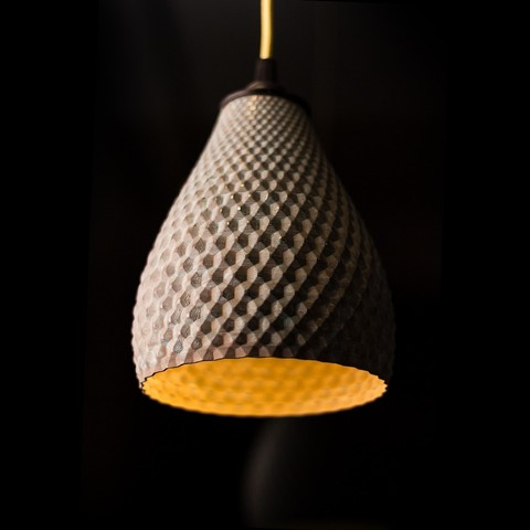 STL file Dragon Shell | Table, pendant, wall & floor light, VOOOD