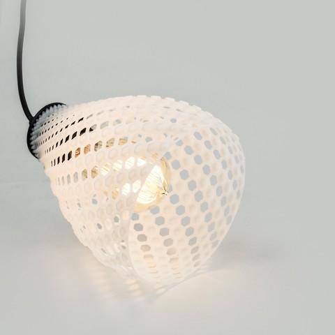 STL file LAMPION  | Fibonacci LAMP SHADE, VOOOD