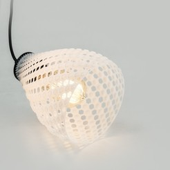 stl LAMPION  | Fibonacci LAMP SHADE, VOOOD