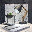 Archivos 3D Dragon Shell | Lámpara de mesa, colgante, de pared y de suelo, VOOOD