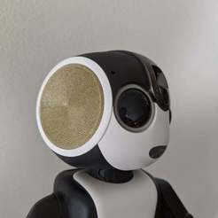 Download free 3D printer templates ロボホン用耳 / Ear part for RoBoHoN, cash