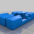 Download free SCAD file Zhuge Liang's Puzzle 3.0 (9 pieces burr puzzle) • 3D print object, cash
