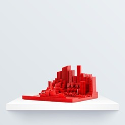 Skyline 2_1080x1080.jpg Download free STL file Skyline 2 • 3D printing object, BQ_3D