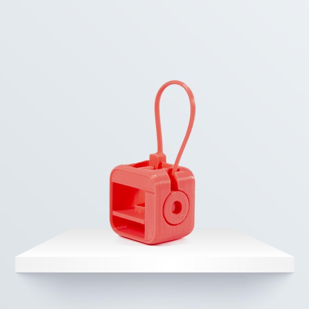 llavero_3d_1080px_1080px_1.jpg Download free STL file Witbox Go! Keyring • 3D print design, BQ_3D