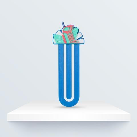 Free 3D print files Bookmark, BQ_3D