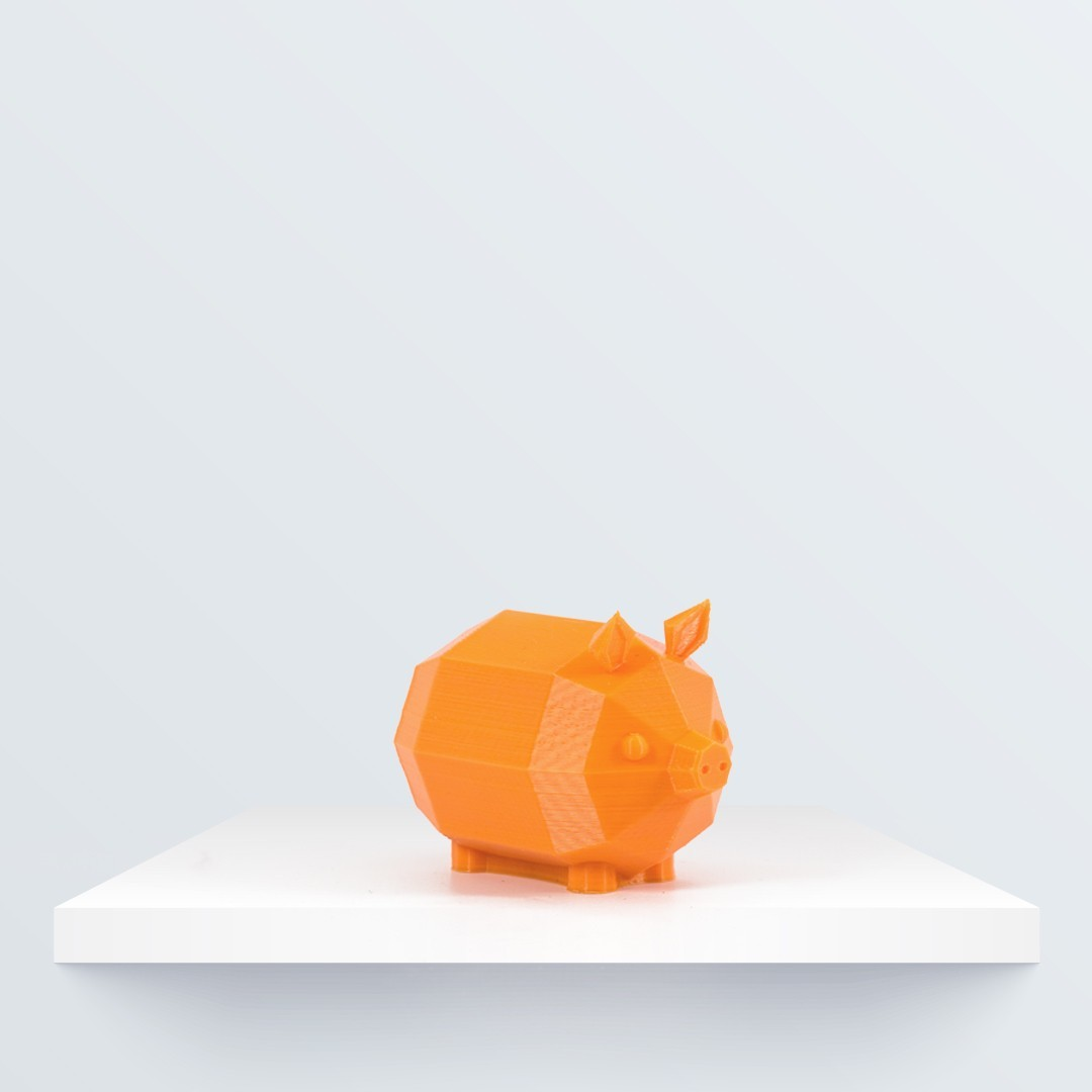 Low poly piglet_1080x1080.jpg Download free STL file Low Poly Piglet • 3D printable model, BQ_3D