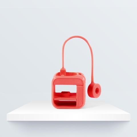 llavero_3d_1080px_1080px_2.jpg Download free STL file Witbox Go! Keyring • 3D print design, BQ_3D