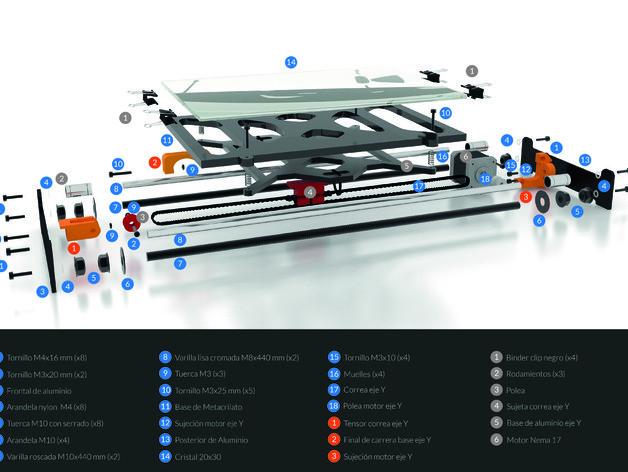 Infografa-01_preview_featured.jpg Télécharger fichier STL gratuit Amélioration du lit pour Prusa i3 • Plan imprimable en 3D, BQ_3D