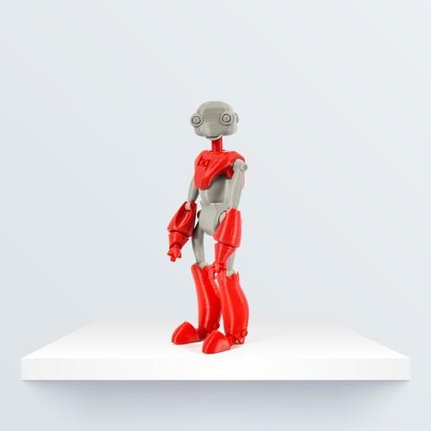 Bequi_portada_1080px_1080px.jpg Télécharger fichier STL gratuit BeQui, Jointed Robot • Design pour imprimante 3D, BQ_3D