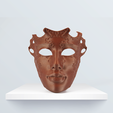 Download free 3D printing files Venetian mask, BQ_3D