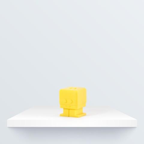 Download free 3D printing designs Zowi keychain, BQ_3D