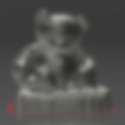 Télécharger fichier STL gratuit Ourson TED • Modèle à imprimer en 3D, augustin123