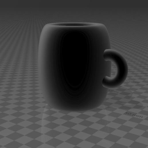 Télécharger fichier STL gratuit Tasse minimaliste • Objet pour impression 3D, augustin123