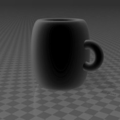 Download free 3D printer designs Minimalist cup, augustin123