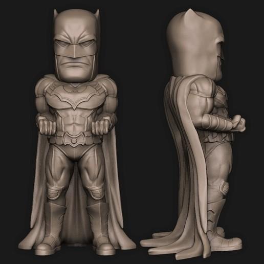 Batman.jpg Download STL file 5 in 1 • 3D printer model, PorcSkulpt9