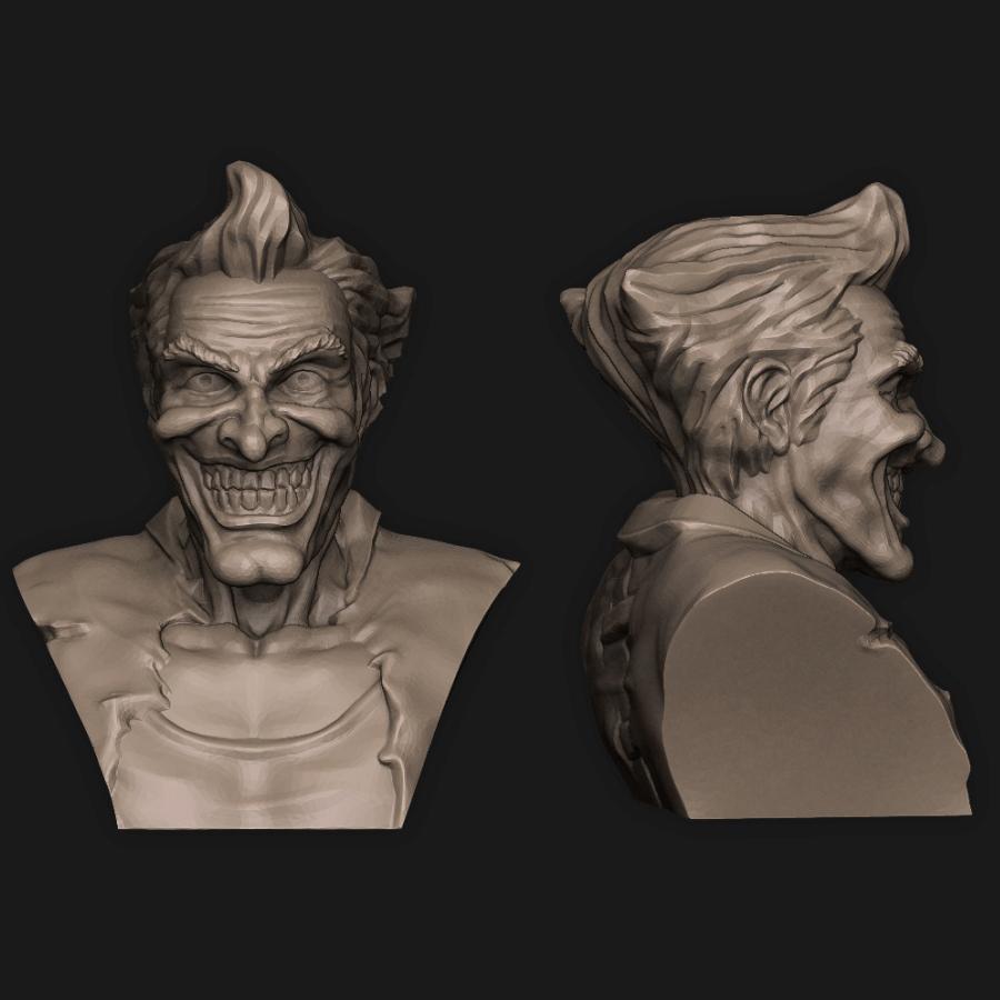 Joker.jpg Download STL file 5 in 1 • 3D printer model, PorcSkulpt9