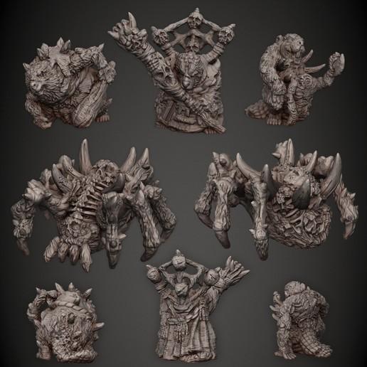 03_Beavers_n_Spider.jpg Download STL file Beavermancer Set • Object to 3D print, PorcSkulpt9