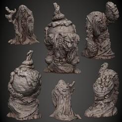 03_Hag.jpg Download STL file Hag • 3D printing template, PorcSkulpt9