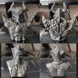 X-Oni-Joker-Print.jpg Download STL file 5 in 1 • 3D printer model, PorcSkulpt9