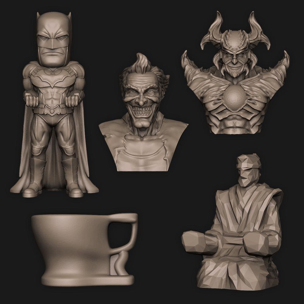 5in1.jpg Download STL file 5 in 1 • 3D printer model, PorcSkulpt9