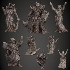 02_Cultist.jpg Download STL file Cultist • Model to 3D print, PorcSkulpt9