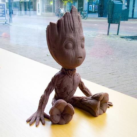 Free stl Baby Groot, Nobby