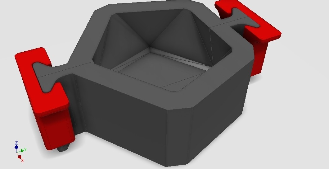 Assembly1.jpg Download STL file MOLD FOR CONCRETE PLANTER • 3D printer object, atanaildo