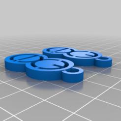 EXID_Earrings.png Télécharger fichier STL gratuit Boucles d'oreilles EXID • Modèle pour imprimante 3D, atarka3