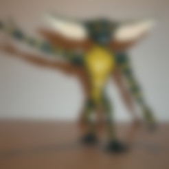 Download free STL file articulated GREMLIN • 3D printable design, atarka3