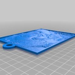 Télécharger plan imprimante 3D gatuit Mon LithopaneBEE LUNA personnalisé, atarka3