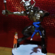 Free stl file KRAMPUS Halloween/Xmas decoration R/C controlled (WIP), atarka3