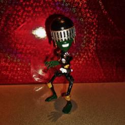 Imprimir en 3D gratis Lil 'Judgie Muerte, atarka3