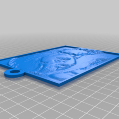 Télécharger plan imprimante 3D gatuit Mon LithopaneBEE HANI personnalisé, atarka3