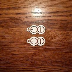 earrings 2.JPG Download free STL file EXID earrings • Design to 3D print, atarka3