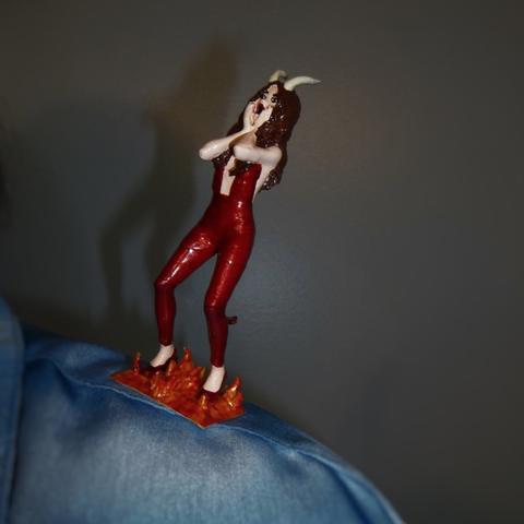 Capture d'écran 2017-10-31 à 16.46.54.png Download free STL file Conscience & temptation (Angel & Devil on my shoulders) • 3D printing design, atarka3