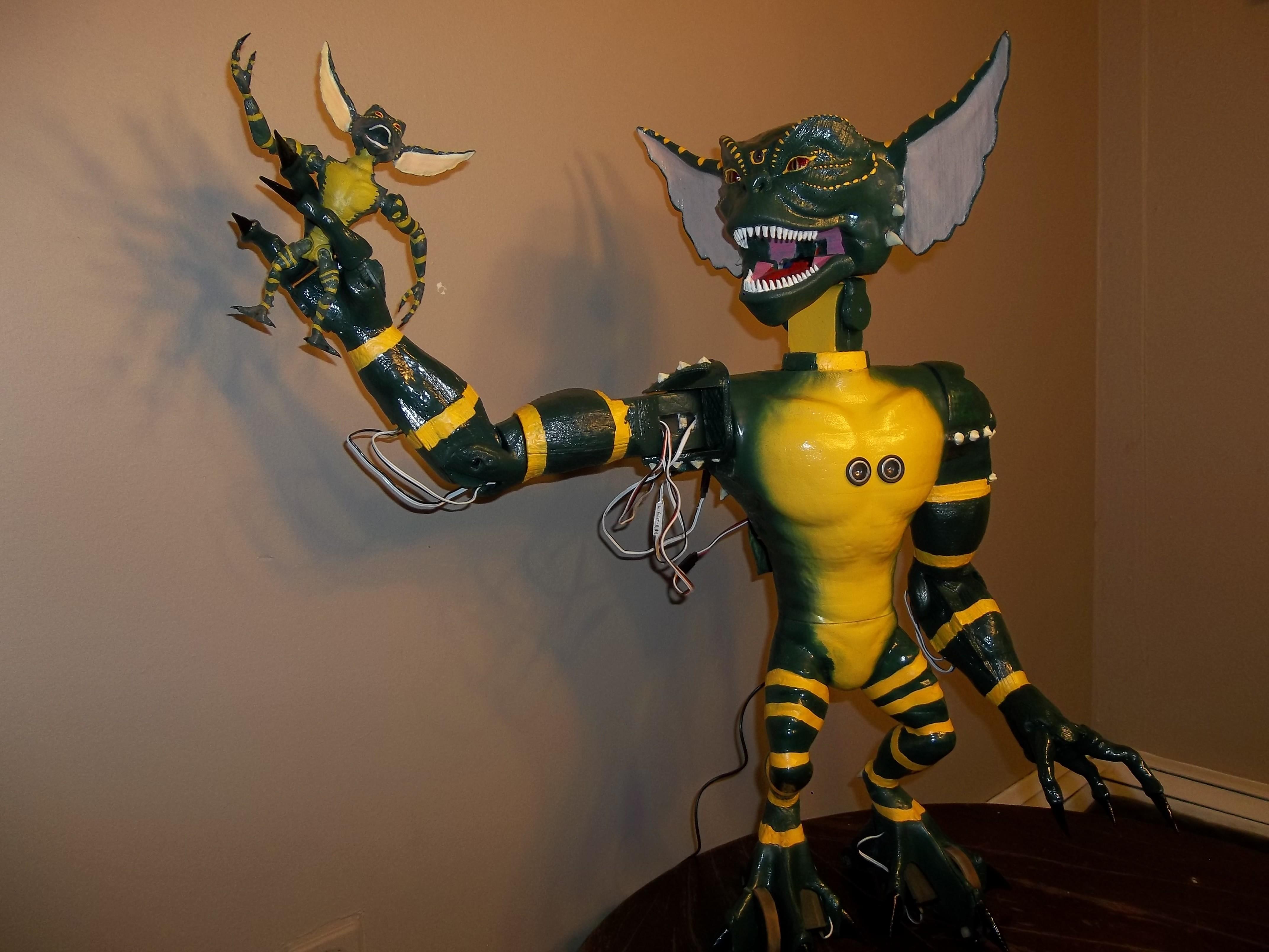 100_2452.JPG Download free STL file GADGET the robotic Gremlin • 3D printing object, atarka3