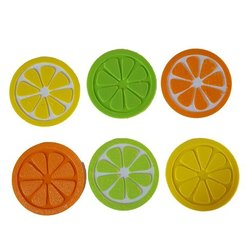 Download free STL file Citrus Fruit Slice Coaster, barb_3dprintny