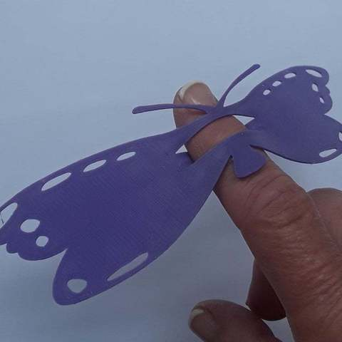 Download free 3D printer model Butterfly Fun, barb_3dprintny