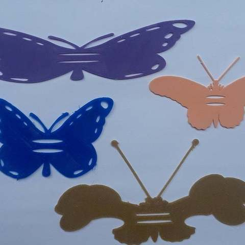 16317235e216c549458856c06d8accb3_display_large.jpg Download free STL file Butterfly Fun • 3D print template, barb_3dprintny